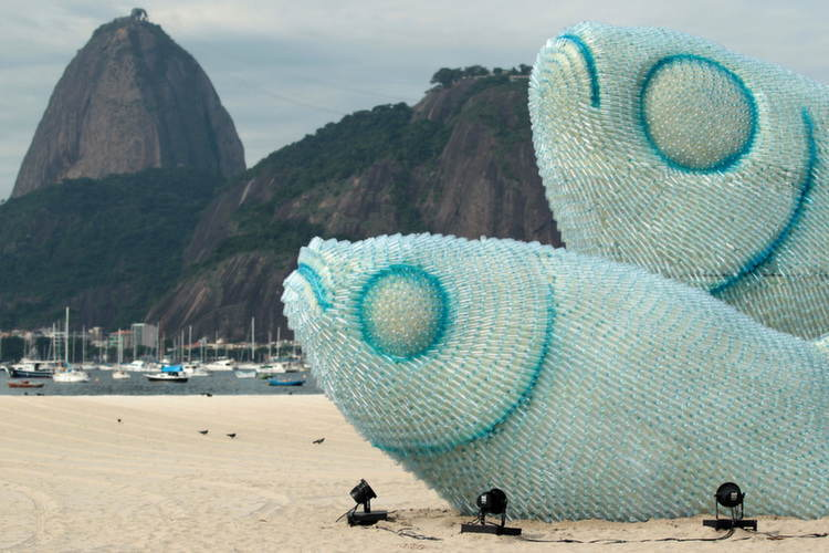 Nontraditional Sculptures Bottle