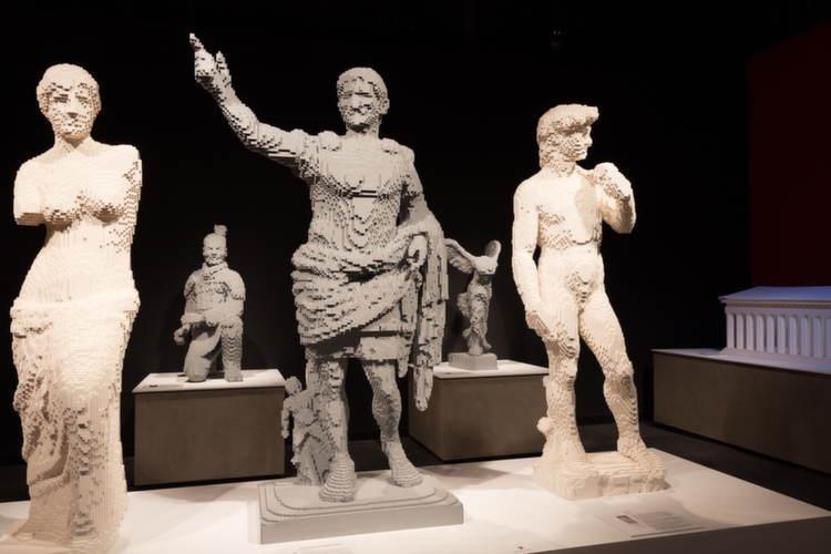 Nontraditional Sculptures David Legos
