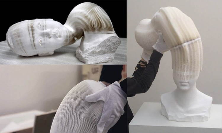 Nontraditional Sculptures Long Head