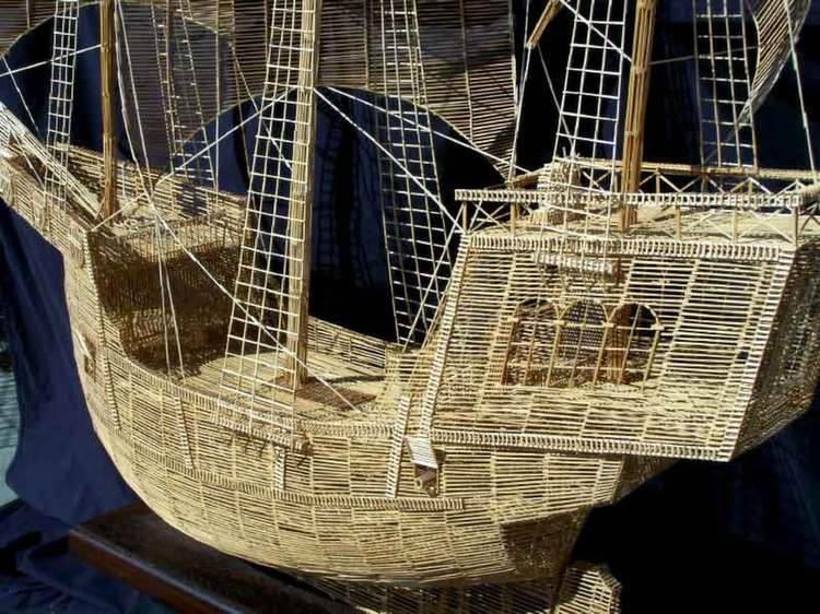 Nontraditional Sculptures Galleon Toothpick