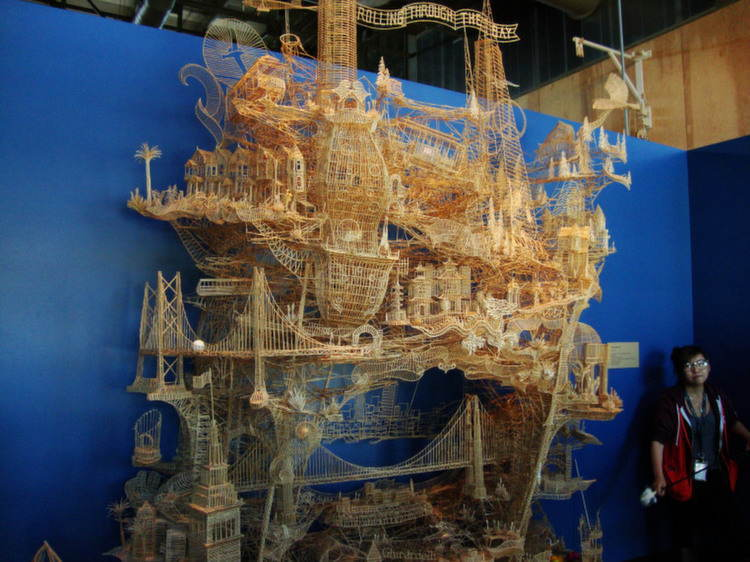 Nontraditional Sculptures Large Toothpick