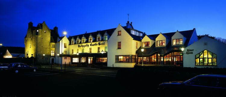 Spookiest Hotels Ballygally Night