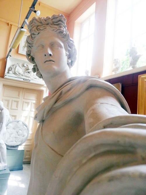 Statue Selfies Far