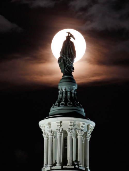 Supermoon Washington