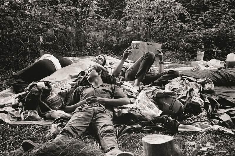 Taking A Break At Woodstock