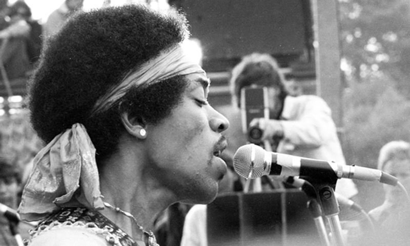 Woodstock Photos Jimi Hendrix