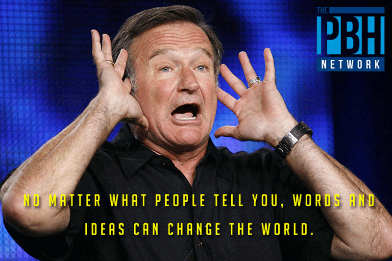 Robin Williams Quotes About Ideas