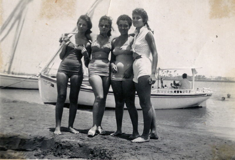 1960s Egypt Bathing Suits