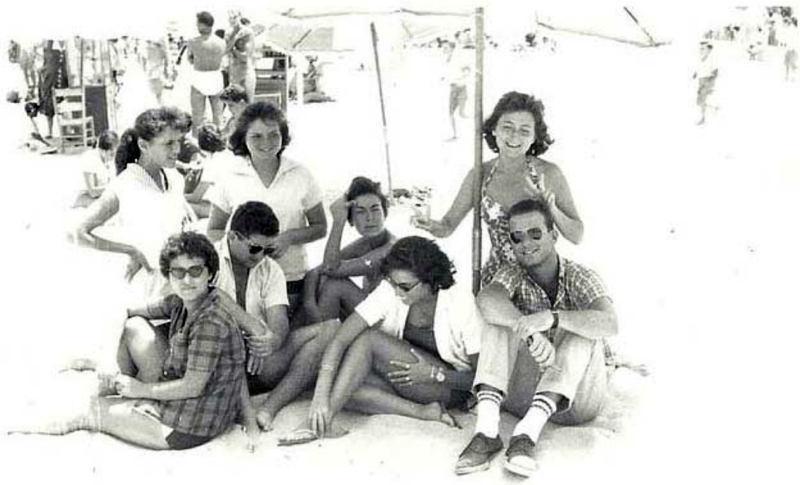 1960s Egypt Beach
