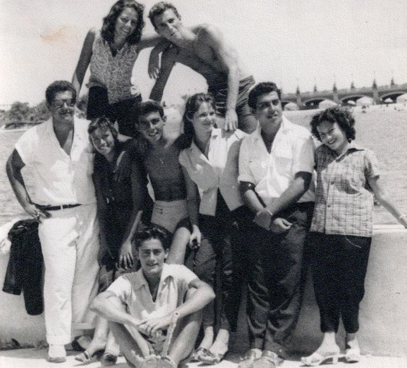 1960s Egypt Family