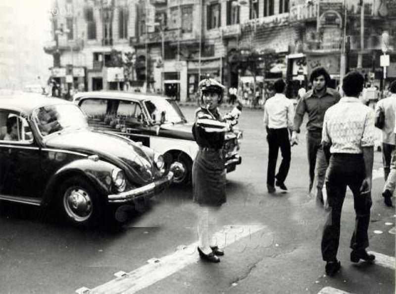 1960s Egypt Police Woman