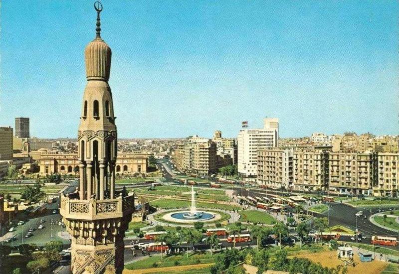 1960s Egypt Tahrir Square