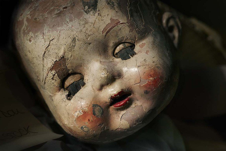 Doll Hospital Cracked Face