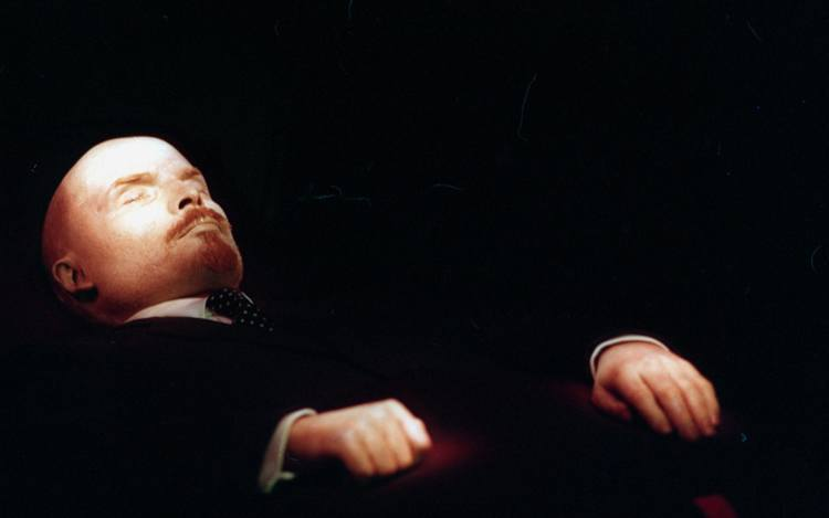 Famous Corpses Lenin Body