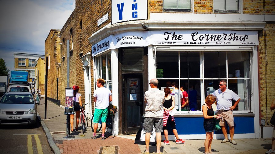 Felt Front Corner Shop