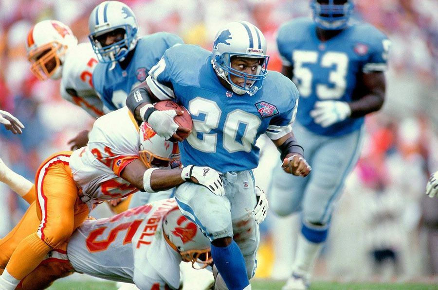 NFL Photos Barry Sanders