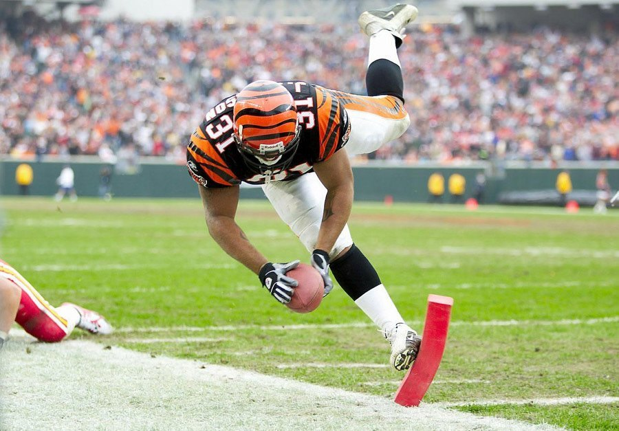 NFL Photos Cincy Score
