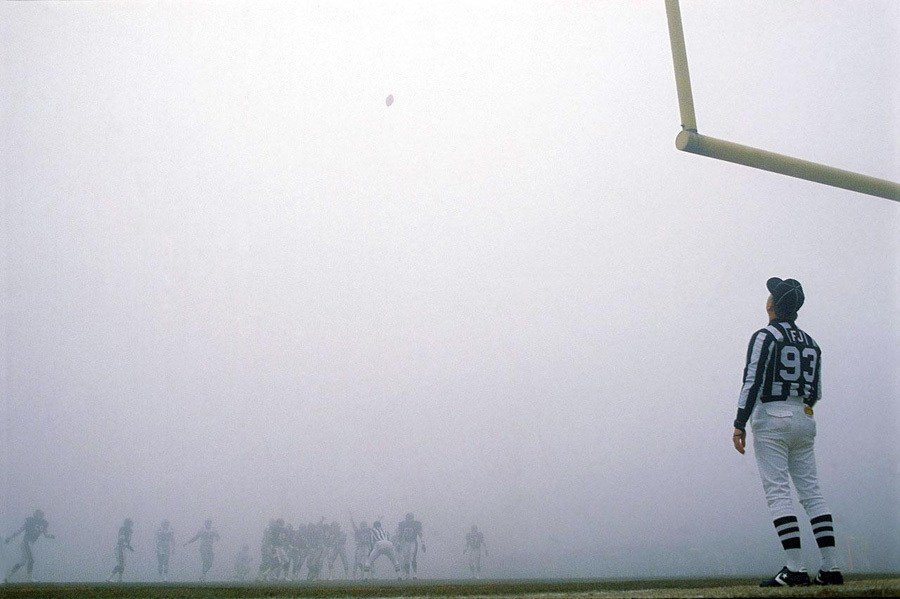 NFL Photos Fog Bowl