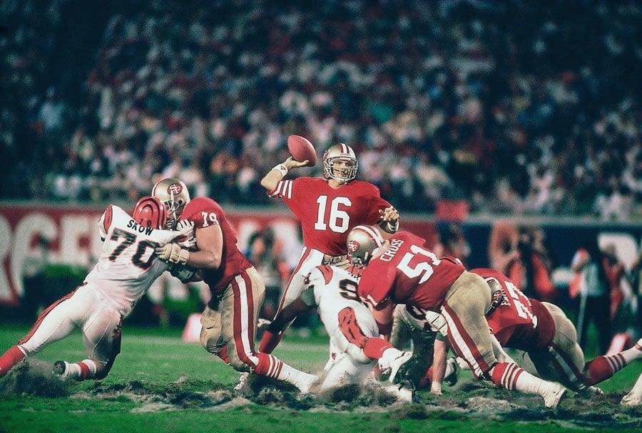NFL Photos Joe Montana
