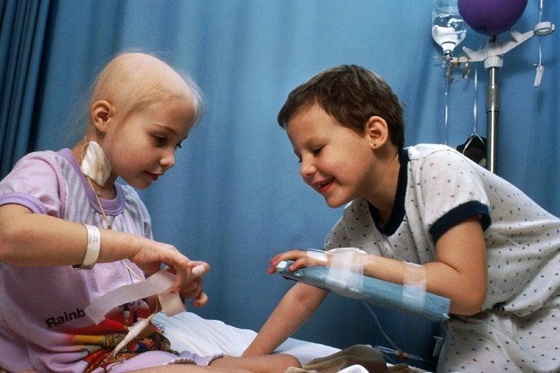 Pediatric cancer patients