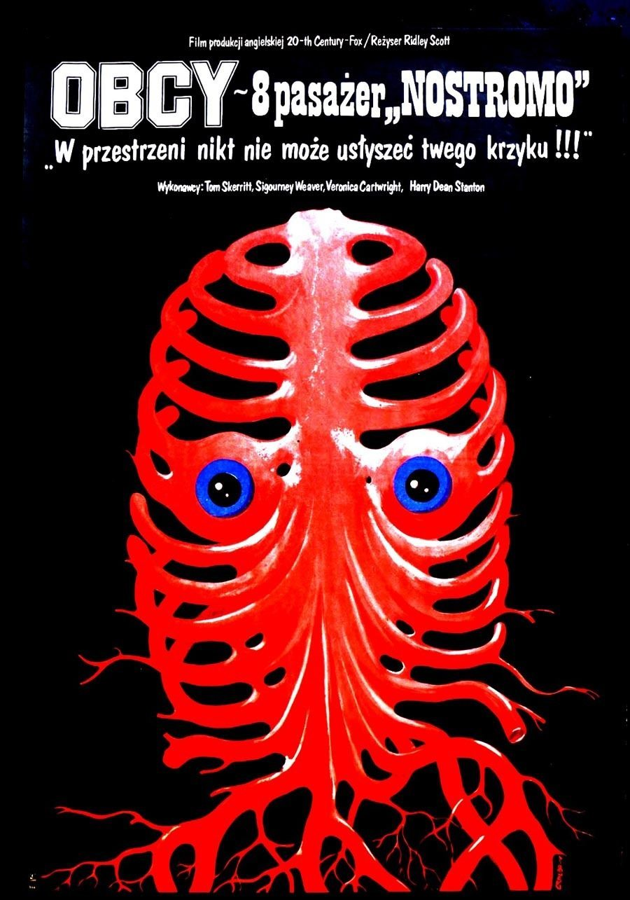Polish Poster For Alien
