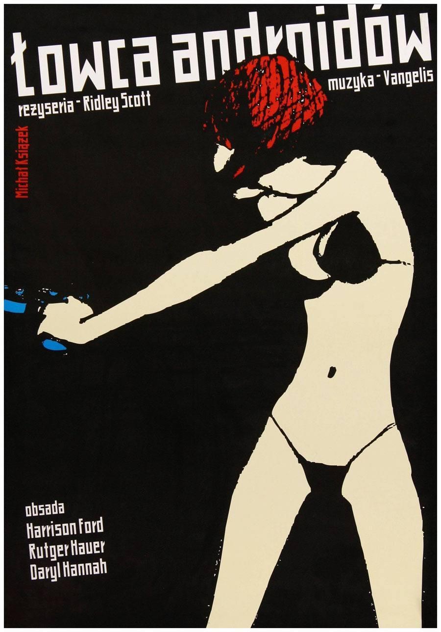 Polish Movie Poster For Blade Runner
