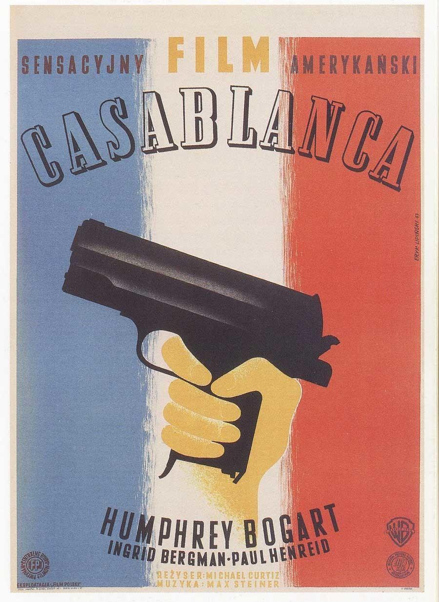Casablanca Cold War Poster