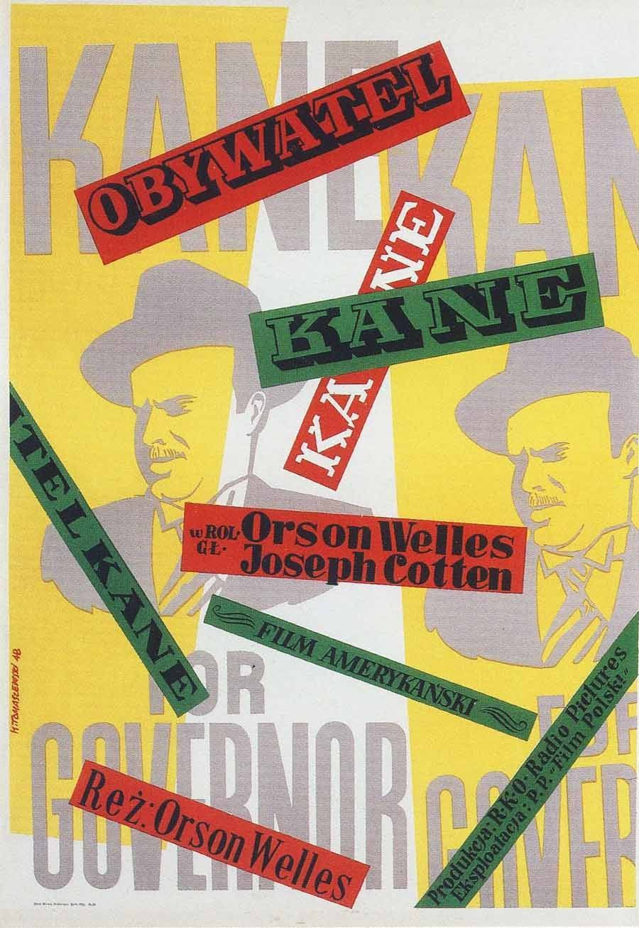 Polish Movie Posters Citizen Kane