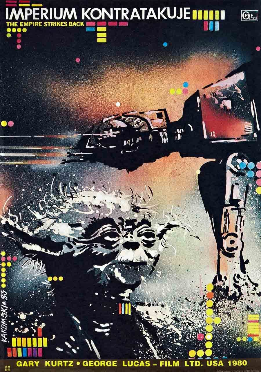 Empire Strikes Back Poster From Eastern Europe