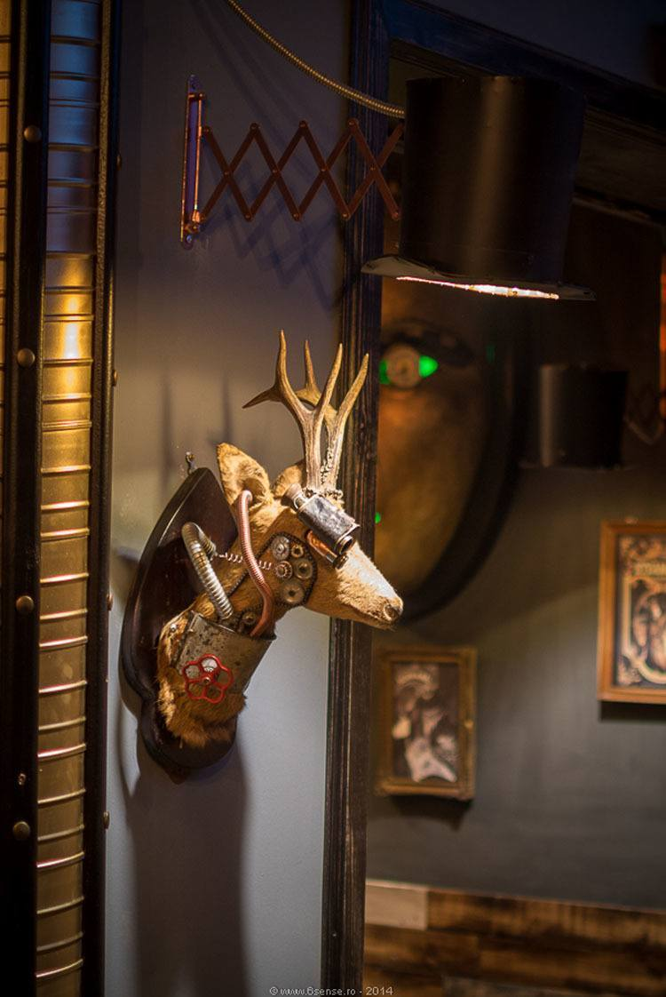 Fall Back Into The Future With This Steampunk Bar In Romania