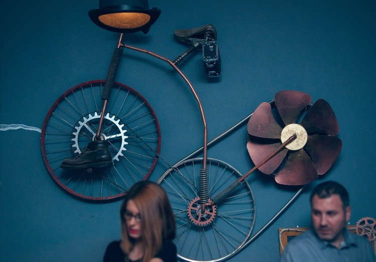 Steampunk Bar Petal Bike
