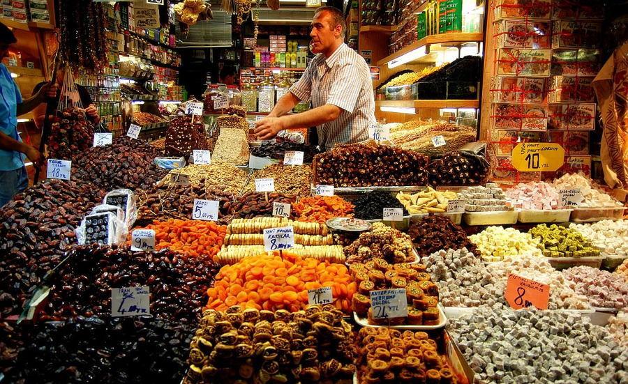 Spice Bazaar In Istanbul Photo