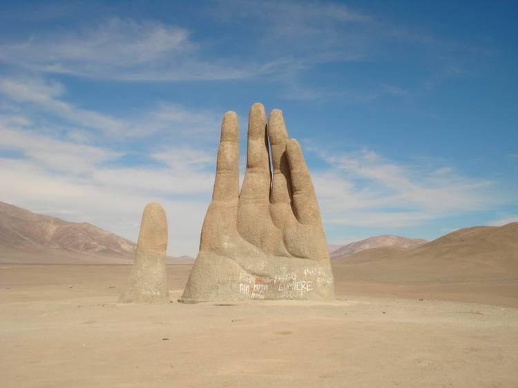Atacama Desert Hand