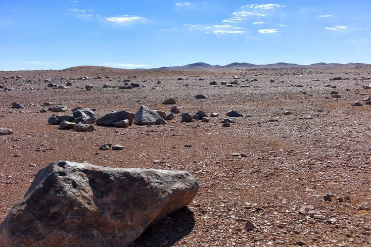 Atacama Desert Mars Film