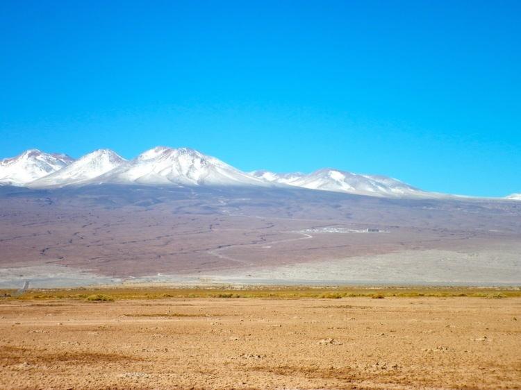 Atacama Desert Mountains