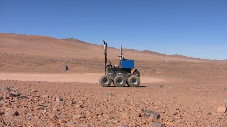 Atacama Desert ESA Rover