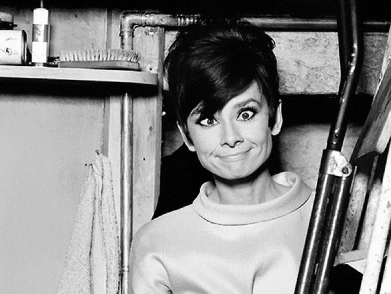 Audrey Hepburn Goofy