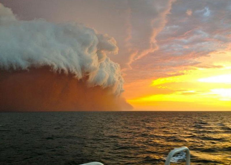 Australia Extreme Weather Haboobb