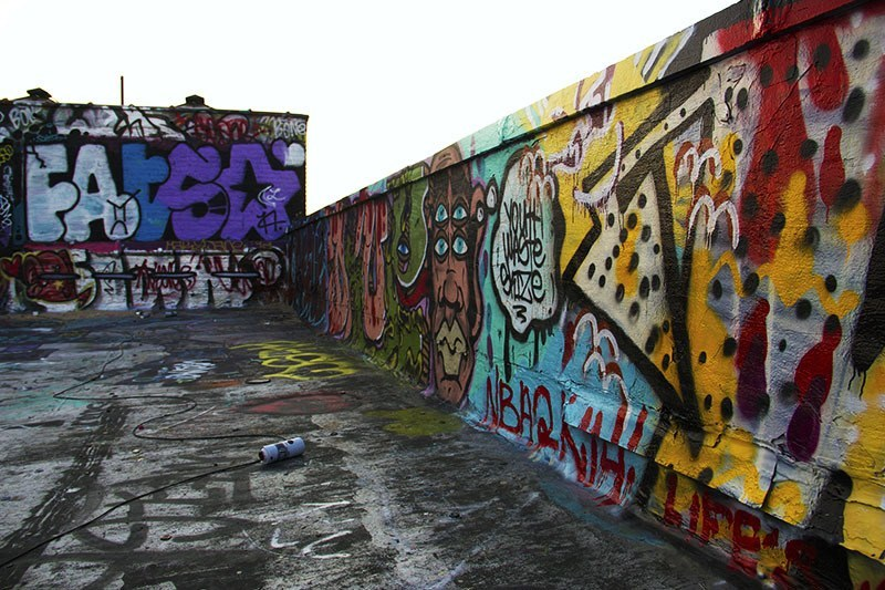Bushwick Graffiti Can