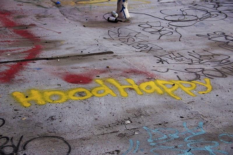 Bushwick Graffiti Happy