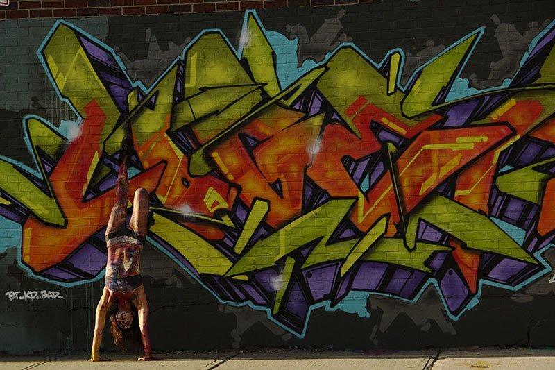 Bushwick Graffiti Woman