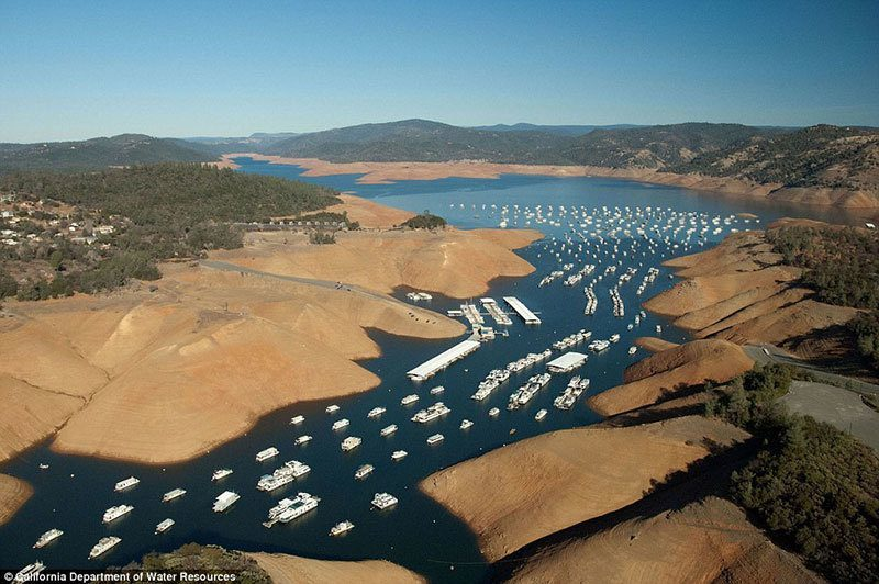 California Drought Lake