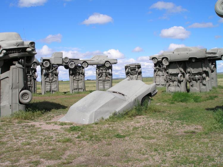 Carhenge Heel Stone