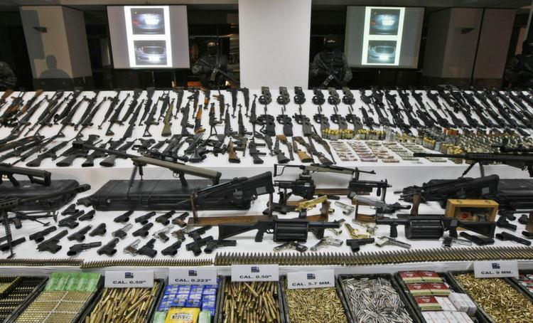 Mexican Drug Lord Guns