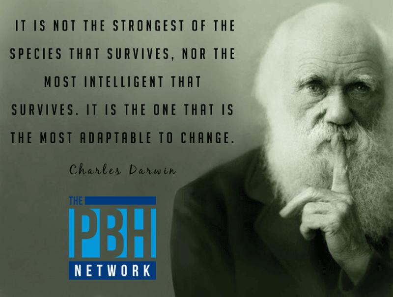 Charles Darwin On Change