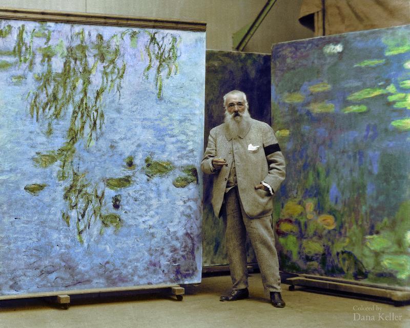 Claude Monet In 1923