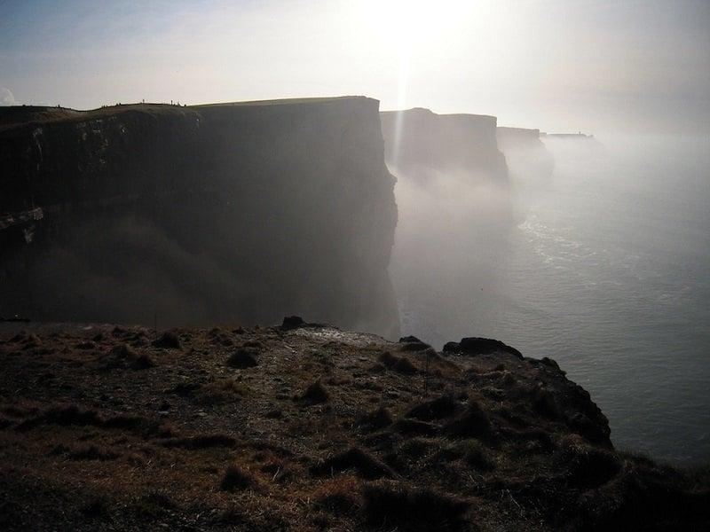 Foggy Cliffs