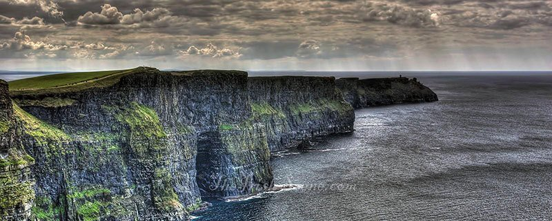 Stormy Cliffs of Moher