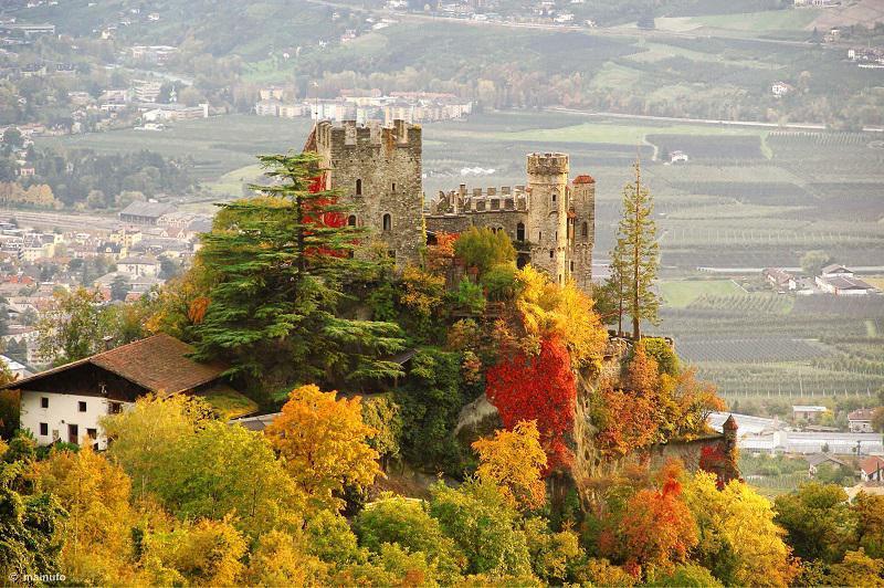 Brunnenburg Castle in Fall