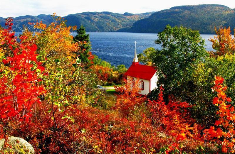 Autumn Church Photos